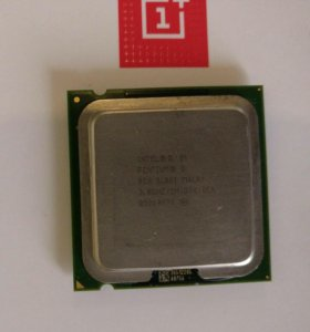 Процессор Intel Pentium D820