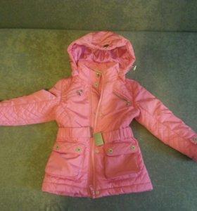 куртка весна -осень 110 размер