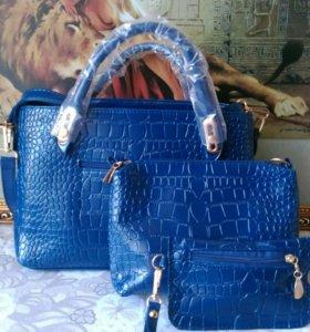 Набор модных женских сумок