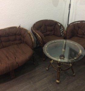 Ратанговая мебель