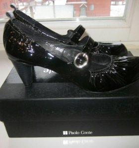 Фирменные туфли Paolo Conte.