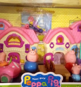 Дом домик Свинки Пеппа Peppa Pig