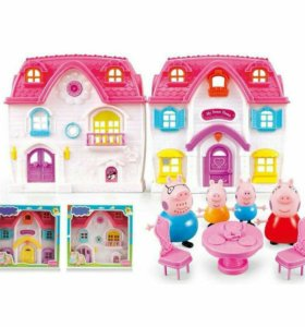 Счастливый дом домик свинки Пеппа Peppa