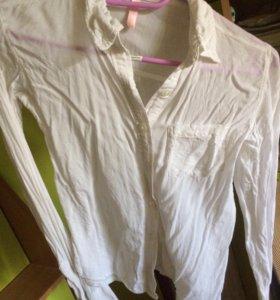 Белые рубашки рост 128-134