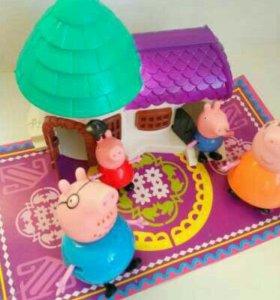 Дом Домик свинки Пеппе Peppa pig