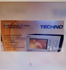 Микроволновая печь СВЧ Техно