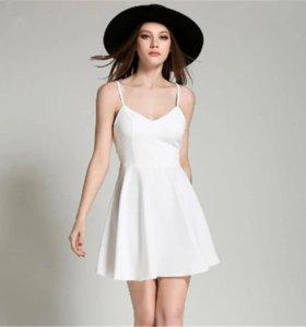 Новое летнее платье с крыльями.