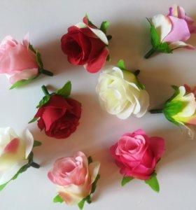 Цветы розы для декора, флористики и скрапбукинга