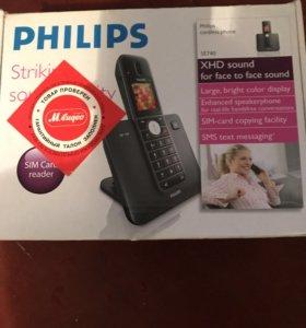 Радиотелефон Philips и Samsung