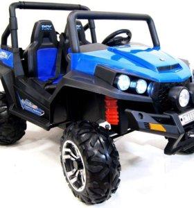 Электромобиль квадроцикл Buggy 4х4 двухместный