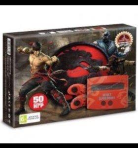 Приставка Sega Mortal combat 50 игр