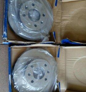 Передние диски тормозные Хундай гетц