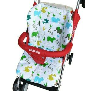 Матрасик для коляски или стульчика для кормления
