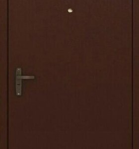 Входная дверь покрас нитроэмалью