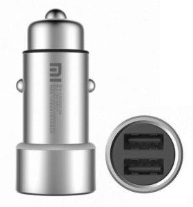 АЗУ | Зарядное устройство Xiaomi Mi Dual Car USB