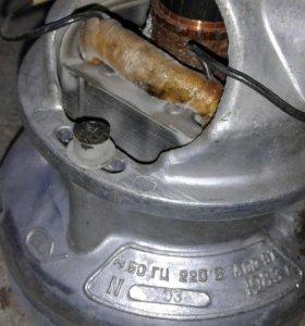 Двигатель с пылесоса ракета