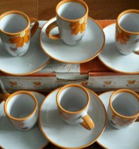 Набор кофейный ☕ (новый)