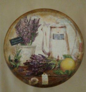 Декоративная шкатулка-короб