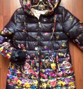 Куртка удлиненная отличное состояние