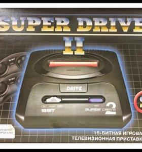 Sega Super Drive 2 Classic (62в1) Black