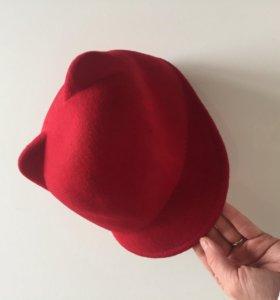 Шляпка женская с ушками