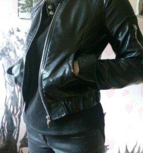 Куртка из кож. зама