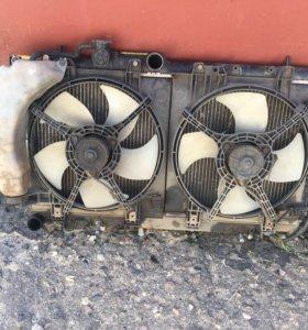 Радиатор Субару