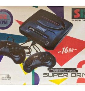 Sega Super Drive 2 Classic (62в1) White
