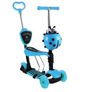 Самокаты детские scooter 21st 5 в 1