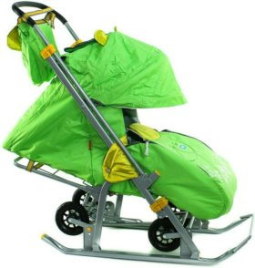 Санки-коляска Ника-7 детям