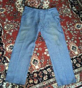 брюки льняные р 62