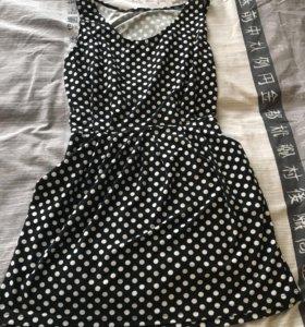 Летнее платье -туника для беременных