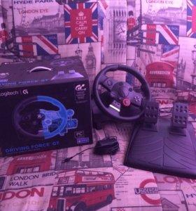 Руль игровой Logitech Driving Force GT