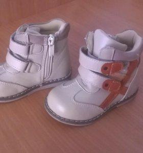 Детские ботиночки, весна