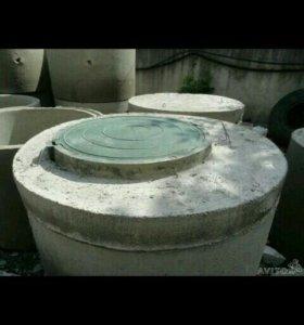 Септики (канализацыя) перелевные