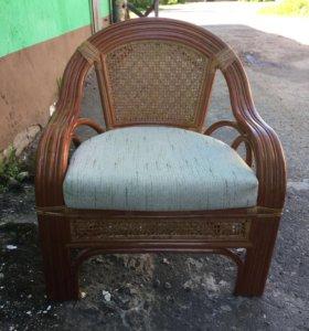 Кресло из ратанга