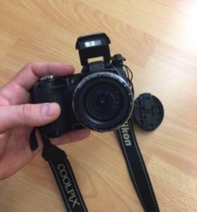 фотоаппарат nikon coolpix l110+чехол