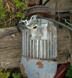 Электромотор 3 фазный 2шт