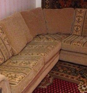 Угловой диван кресло