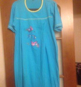Сорочка для беременных и для кормления L