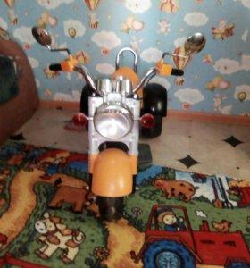 Мотоцикл. Электромобиль.