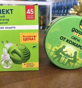 Фумигатор и свеча от комаров