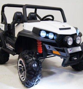 Квадроцикл электромобиль Buggy 4x4 двухместный