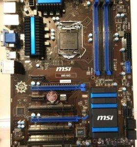 Материнская плата Msi b85-g43 LGA 1150