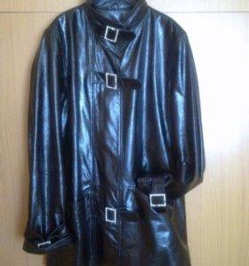 Куртка нат.кожа новая