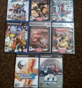 Продам игры для playstation 2