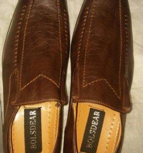 Мужские туфли ботинки 44 размер