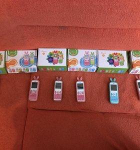 Телефоны Maxvi J1 6 штук