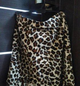 Юбка - леопард