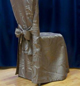 Изготовление чехлов на стулья